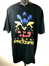 Manny Pacquiao Team Pacquiao Fighter Shirt Size XXL RARE