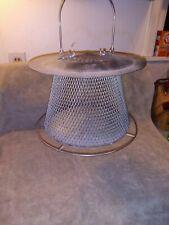 No no Bird Feeder vintage wire mesh