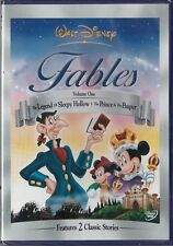 Fables Vol. 1 The Legend of Sleepy Hollow + Prince & Pauper Disney DVD _ New S.