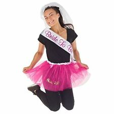 KreativeKraft Hen Party Kit Fancy Dress up Outfit Ladies Bride to Be - 3 Pieces