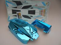 New Limited Edition Metallic Blue Body Parts Inc Decals For Tamiya Neo Scorcher