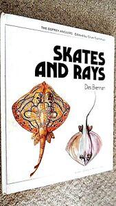 OSPREY ANGLERS: SKATES AND RAYS / Des Brennan (1974 HARDBACK)