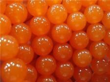 6mm, oranges sud-américains perles en vrac topaze, 38cm