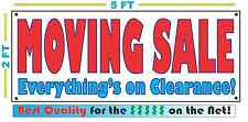 MOVING SALE Everythings On Clearance! Sign NEW Larger Size Best Quality