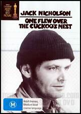 One Flew Over The Cuckoo's Nest (DVD, 1999) Region 4 Like NEW     Jack Nicholson