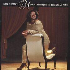 Irma Thomas My Heart's In Memphis CD Songs of Dan Penn New Orleans R&B Rounder