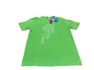 Reebok NFL Men's Size XL Green Namath #12 New York Jets Short Sleeve T- Shirt
