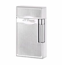 ST DUPONT LEGRAND LINE 2 SOFT DOUBLE FLAME & TORCH LIGHTER PALLADIUM ST023011