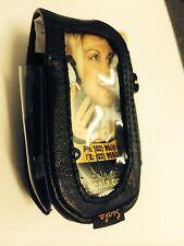 Motorola v3688,v8088 Flip Scala Leather Case with Belt Clip Brand New in Package
