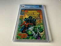 MARVEL SUPER HERO ISLAND ADVENTURES 1 CGC 9.6 WHITE PS DR DOOM HULK COMICS 1999