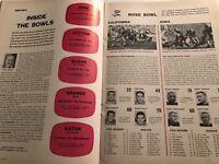 1958 Sports Illustrated ORANGE Bowl OKLAHOMA Sooners vs SYRACUSE Prentice GAUTT