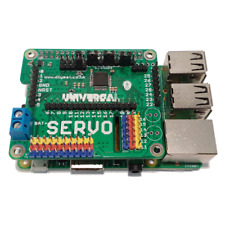 Raspberry Pi Universal  HAT SERVO/ADC/DAC/GPIO/LED/Stepper Motor