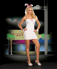 BEVERLY HILLS BUNNY RABBIT PLAYBOY ADULT HALLOWEEN COSTUME WOMEN'S SIZE SMALL