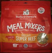 Stella & Chewy's Freeze-Dried Super Beef for Dog SEALED 18oz Best Used 12/25/20