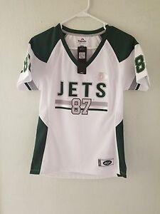 Majestic NFL NEW YORK JETS  #87 ERIC DECKER   V-Neck Jersey Womens
