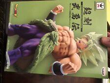 Banpresto Dragon Ball New * Chokoku Buyuden Super Saiyan Broly * Movie Statue