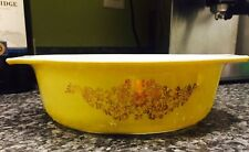 Golden Garland  Promotional Item ,Oval Casserole By Pyrex