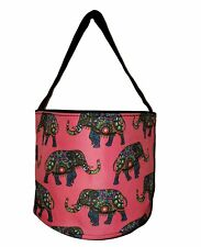 Personalized Childrens Fabric Bucket Tote Bag - Toys- Easter