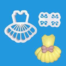 Dress Cookies Biscuit Cutter Fondant Pastry Mould Cake Sugarcraft Baking Mold