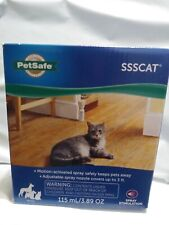 PetSafe Ssscat Spray Deterrent Motion Activated Pet Proofing Dogs Cats