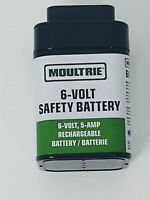 Moultrie 6-Volt, 5-Amp Rechargeable Safety Battery. Brand New