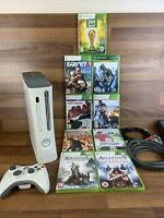 Xbox 360 Original Bundle 9X Games One Official Controller