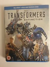 TRANSFORMERS AGE OF EXTINCTION BLURAY INCLUDES SLIPCASE