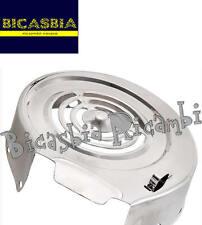 9246 - COPRIVOLANO ACCIAIO INOX LUCIDO LAMBRETTA LI 125 SERIE 1 2 3 4 SERVETA