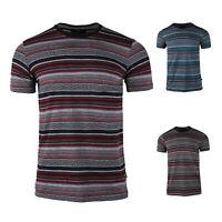 Men's Classic Basic Boho Crew Neck Short Sleeve Vacation Tee T-Shirt S M L XL