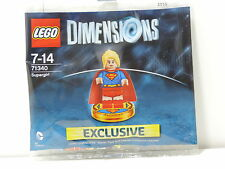 Lego Dimensions Exclusive figure 71340 Super Girl Sealed Rare Edition Supergirl
