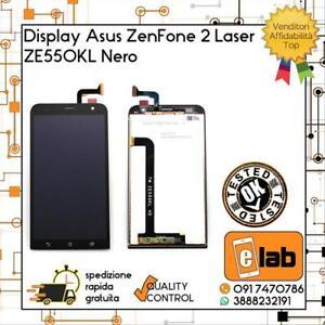 LCD TOUCH SCREEN PER ASUS ZENFONE 2 LASER ZE550KL Z00LD NERO SCHERMO DISPLAY