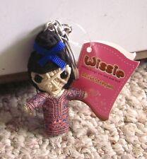 WISSIE World Stringies keychain Singapore Girl string craft NWT costume figure