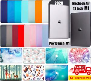 3-IN-1 SET MacBook Air 13 Inch M1 Case A2337 Macbook Pro 13 Inch M1 A2338 2021