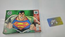 (D2) Superman 64 Complete In Box