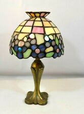 Partylite Stained Glass Tea Light Lamp