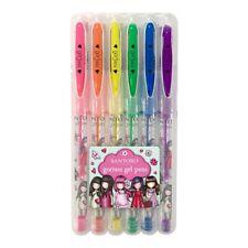 Set 6 stylos gel Gorjuss
