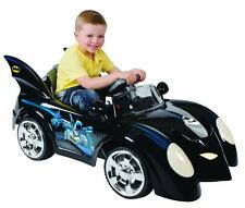 Batman Batmobile Kids 6V Battery Powered Electric Ride On Car Lights And Sounds