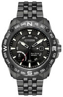 Citizen Eco-Drive Men's PRT Rotating Compass Bezel Grey 44mm Watch AW7047-54H