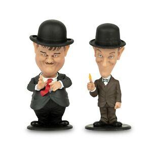 BIG Chief Studios Laurel and Hardy Mini Bobble-Head 2-Pack Suits FREE UK P&P