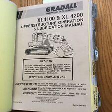 Gradall Xl4100 Excavator Service Shop Repair Manual Telescopic Boom Backhoe