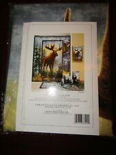 Hautman Brothers majestic moose shower curtain new in package cabin lodge