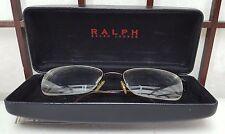 Polo Ralph Lauren Semi Rimless Eyeglass Frames with Case
