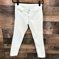 Ann Taylor Loft Women's Light Blue Modern Skinny Flat Front Pants Size 29/8p