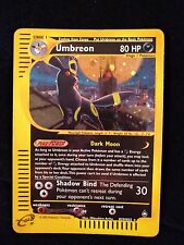 Umbreon H29/H32 Aquapolis Holo Rare Pokemon Card LP to Played