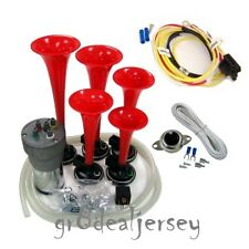 Dukes of Hazzard General Lee Dixie Full 12 Note Car Air Horn Button Wiring Kit