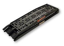 Alu-Auffahrrampe Cross klappbar bis 300 kg extra breit, schwarz