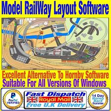 Design & Build Model Train Set Hornby Track Plans With This Simple Software OO