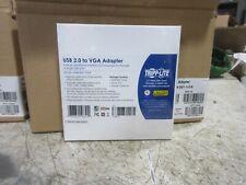 Tripp Lite USB 2.0 to VGA Adapter Model U244-001-VGA 1080P BRAND NEW SEALED