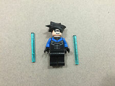 LEGO Batman Nightwing minifig  in EUC 7785 minifigure Rare
