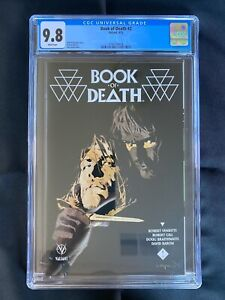 Book of Death #2 CGC 9.8 (2015) - Cary Nord cover